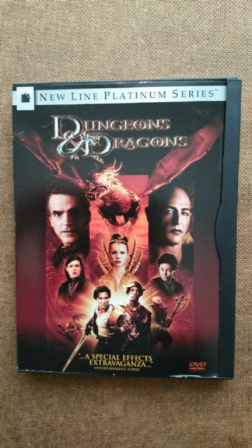 Dungeons And Dragons (DVD, 2001) - Black Clip Design Cover